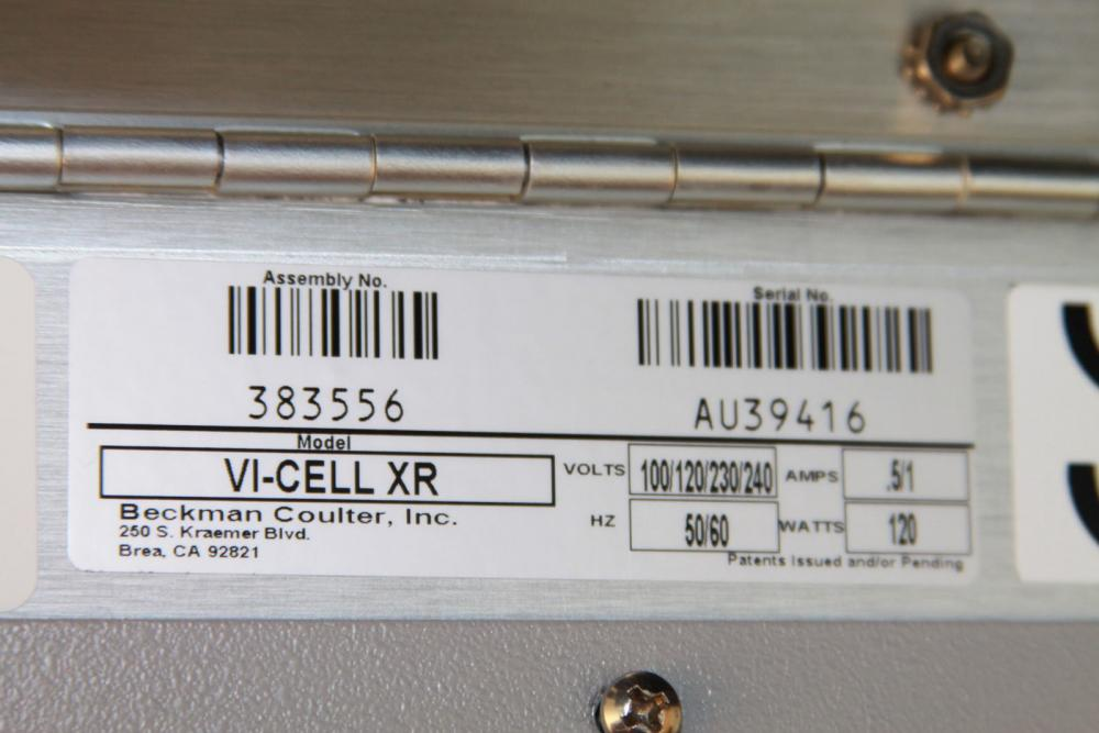 0404 - Beckman Coulter Vi-Cell XR Cell Viability Analyzer - Price