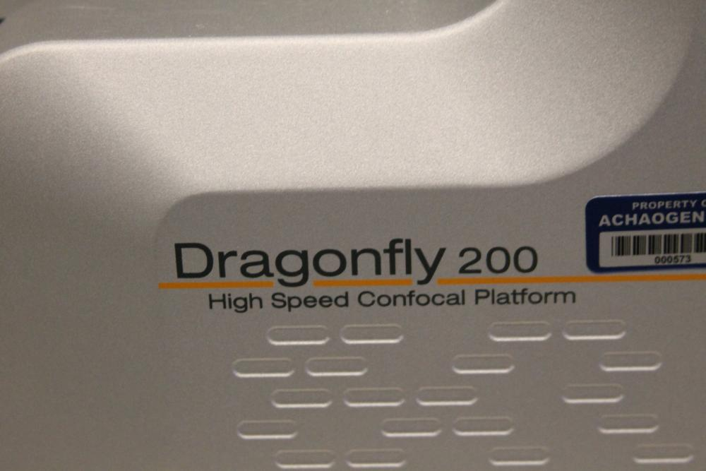 complete andor dragonfly 200 high speed confocal